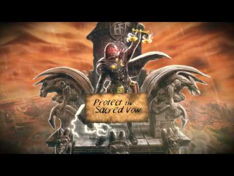 HAMMERFALL - The Sacred Vow (Official Lyric-Video) | Napalm Records