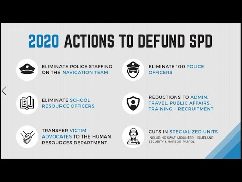 Seattle City Council expected to vote on police funding cuts