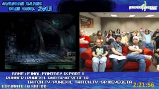 AGDQ 2013 - Final Fantasy IX Speedrun, Part 1 (Discs 1&2)