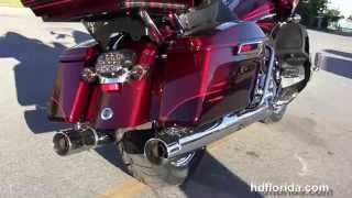9. 2015 Harley Davidson CVO Road Glide Ultra for sale Florida Alabama