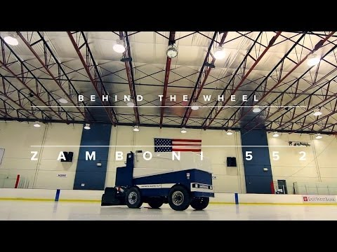 Behind The Wheel: Zamboni 552 Electric Ice Resurfacer