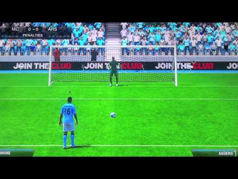Fifa 13 Match, Arsenal FC vs. Manchester City