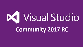 Download and Install Visual Studio 2017 RC  Community Edition