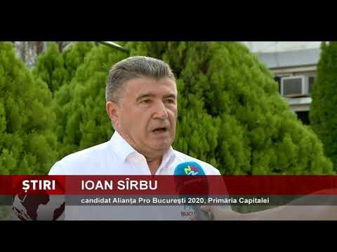 Candidatul Alianţei Pro Bucureşti 2020 vrea să redea viaţă Bucureştiului