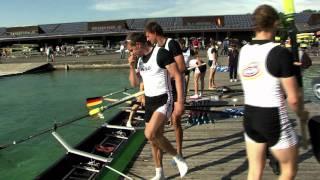 Der Deutschland-Achter, das Flaggschiff des Deutschen Ruderverbandes, unterstützt ab sofort mit voller Kraft die Bewerbung Münchens um die Olympischen ...
