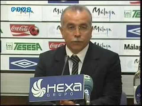 Declaraciones de Antonio Tapia ante el Málaga - Athletic 0-0