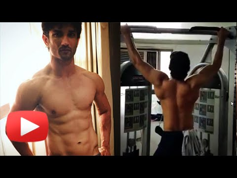 Sushant Singh Rajput Workout | Body Building For R