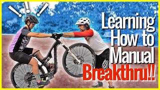 **MANUAL TUTORIAL BEGINS ~10:15**Today was a breakthrough moment teaching Hailey how to manual on her full suspension 29inch MTB.  Hailey has been trying to learn how to manual a mountain bike for a while with limited results. We used flat platform pedals to help learn the manual in a safer way, and as well as help her feel more confident. At the same time we also helped the Singletrack Sampler how to manual better.SNES = New England Sampler Taking the Single Track Sampler around the best mountain bike destinations in the North East / New England area!https://www.youtube.com/playlist?list=PLKhb73W7eMRGmSBEw79n9BorjnxQoFi8JSUBSCRIBE ▶︎ https://goo.gl/xu5U0hPatreon Community ▶︎ https://goo.gl/8SHpPFMy Gear ▶︎ https://goo.gl/9LrYtRMTB Park Pass  ▶︎ https://mtbparks.com/Promo code - SkillsWithPhil Single track Sampler ▶︎ https://www.youtube.com/channel/UCfUGBBnxQYezwJM9wi3F-LgHailey  ▶︎ https://www.youtube.com/c/haileysarauskyInstagram ▶︎ https://www.instagram.com/philkmetz/Facebook ▶︎ https://www.Facebook.com/philkmetz/Most Recent ▶︎ https://goo.gl/10Kw6d8 Simple MTB Tricks ▶︎ https://www.youtube.com/watch?v=Uuyn7A1Yb8A&list=PLKhb73W7eMRH_Ov7BeDivctjXAD2bTsOJ&index=18 Fun MTB Tricks ▶︎ https://www.youtube.com/watch?Walmart Bike Torture Test ▶︎ https://youtu.be/wkMnk_eCDQU?list=PLKhb73W7eMREOqKUAP4u-qXKzvgUy0zGWEvil Calling ▶︎ https://www.youtube.com/watch?v=5irX8yVn0uw&list=PLKhb73W7eMREOqKUAP4u-qXKzvgUy0zGW&index=2