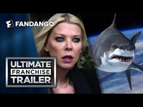 القرش الطائر المفترس في الإعلان الترويجي لـ Sharknado 4