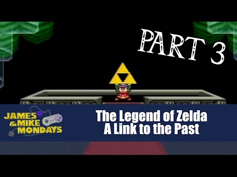 Link to the Past (SNES) Part 3 - James & Mike Mondays (видео)