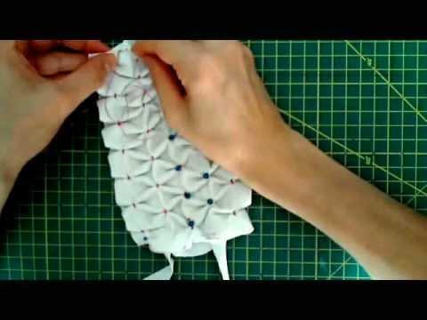 realizzare un braccialetto usando un collant