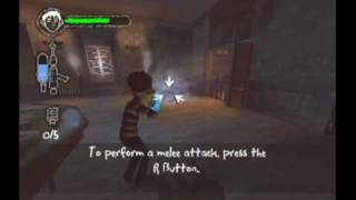 Monster House Movie Game Walkthrough Part 1 (GameCube)