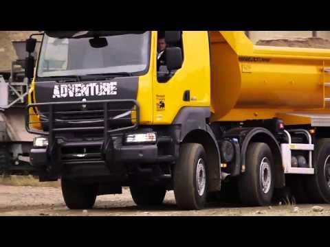 Vídeo de la serie especial Renault Kerax Adventure