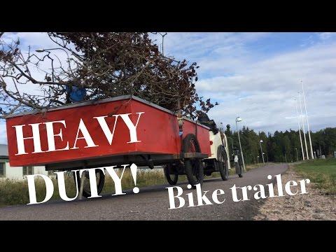 Heavy Duty Bicycle Trailer