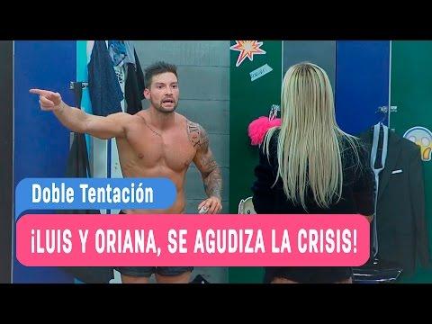 Doble Tentación ¡Luis y Oriana, se agudiza la crisis! / Capitulo 34 (видео)