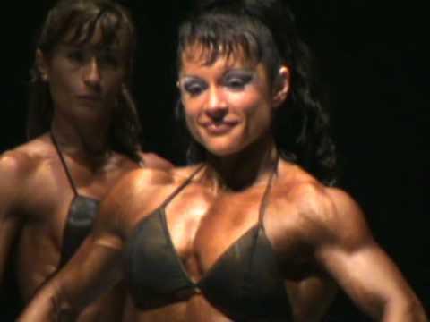 Julia Castellanos: Bodyfitness -158 cm IFBB Spain Championship 2008