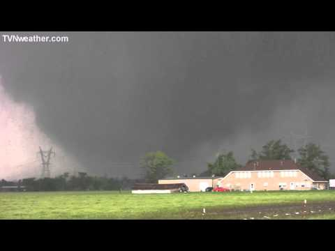 moore - On May 20, 2013, storm chasers David Demko and Heidi Farrar documented the disastrous Moore, OK tornado. With tremendous amounts of debris falling around the...