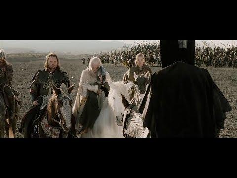 LOTR - The Black Gate (EXTENDED SCENE) The Return of the King