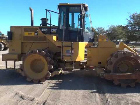 CATERPILLAR VERDICHTER 815F2 equipment video 7EVTOKE9Diw
