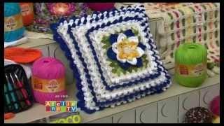 Almofada de Croche - Cristina Luriko