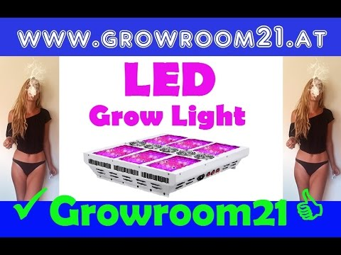 Grow LED LIGHT Upgrade für deine Growbox #Growroom21