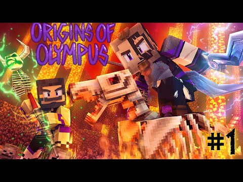 Origins of Olympus #1 - PRINCE OF THE UNDERWORLD (Percy Jackson Minecraft Roleplay)