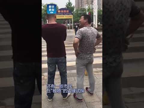 العرب اليوم - شاهد: الصين تحلّ مشكلة عبور المشاة قبل الإشارة الحمراء
