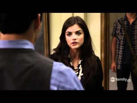 Pretty Little Liars 1x10  Ezra and Aria Scenes
