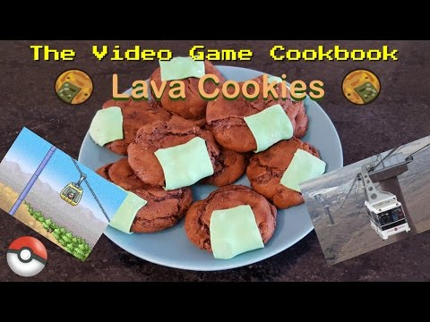 Lava Cookies | The Video Game Cookbook