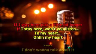 Video I Don't Want to Talk About It - (HD Karaoke) Rod Stewart MP3, 3GP, MP4, WEBM, AVI, FLV Juli 2018