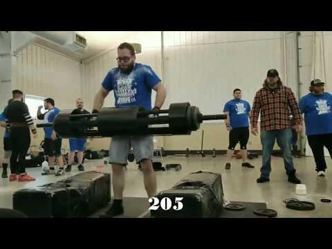 Indiana's Strongest Man Record Breaker 3 Contest [LW Novice]