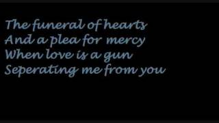 HIM Funeral of hearts with lyrics