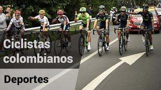 Le agradecemos a nuestros ciclistas colombianos por el gran esfuerzo y dedicación en el Tour de Francia 2017.