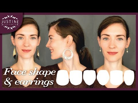 How to choose earrings for your face shape | My earring collection | Justine Leconte