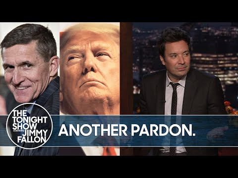 Trump Pardons Former National Security Advisor Michael Flynn   The Tonight Show