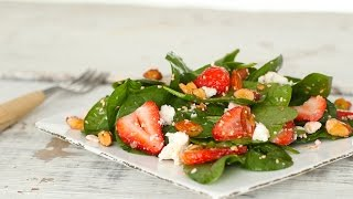 Strawberry Spinach Salad with Almonds - Everyday Food with Sarah Carey by Everyday Food
