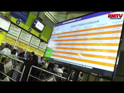 Aksi 313, 16 Kereta Keberangkatan Gambir Berhenti di Jatinegara