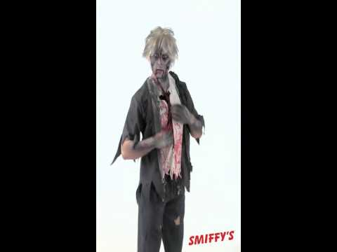Déguisement d'écolier zombie
