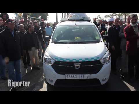 Maroc - taxi : Les chauffeurs protestent contre la montée des prix du carburant à Casablanca