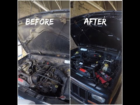 How To Clean Your Engine Bay