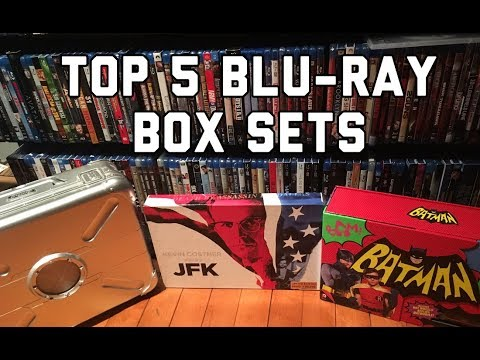 Unboxing My Top 5 Blu-ray Box Sets