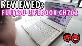 Reviewed: Fujitsu Lifebook CH702 Floral Kiss Ultrabook