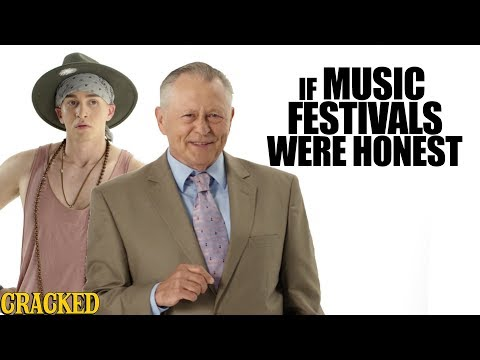 If Music Festivals Were Honest - Honest Ads (Bonnaroo, Coachella, Lollapalooza Parody)