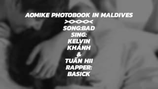 AoMike Photobook in Maldives 2017.