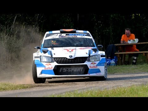 Rallye de Luxembourg 2018 | Onboard Fernandes - Beck | Skoda Fabia R5 | ES3 Brandenbourg [HD]