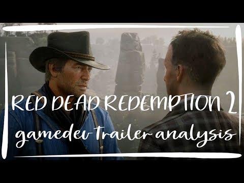 Red Dead Redemption 2 GAME DEVELOPER Trailer Analysis