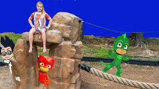 Help the Assistant search for Disney PJ Masks! Please Subscribe Here http://www.youtube.com/user/TheEngineeringFamily?sub_confirmation=1Check out our second channel - https://www.youtube.com/channel/UCPC55dCdzIjNJd421LbK3uwIn this The Engineering Family YouTube video summer adventure the Assistant is searching for Disney PJ Masks Gekko, Romeo and Minnie Mouse at the park! She'll have to cross obstacles like a spiderweb and all sorts of other fun things to find Luna Girl, Gekko, Owlette and more! Check out some of these other fun TheEngineeringFamily Treasure HuntsDISNEY SURPRISE TREASURE Secret Surprise Treasure with the Assistant a Disney World Video Surprise   https://youtu.be/a3c5pAJ-o-kPJ MASKS Disney Search For PJ Masks with Blaze and Paw Patrol Video  Adventure   https://youtu.be/4mV2sNE14PgAssistant Slip N Slide Bounce House Carnival Challenge Surprise Toys Video  https://youtu.be/HKE2lCvb6fMASSISTANT TREASURE HUNT Paw Patrol Look Out Hunt + toysZootopia + Lion Guard Toys Surprise Video  https://youtu.be/ECgPK35Gw3wOr these Playlists!  Funny Kids Videos     https://www.youtube.com/playlist?list=PLoLQ9unpi4OHXhaMeWT2y6P27pbuzKbckFeaturing the Assistant   https://www.youtube.com/playlist?list=PLoLQ9unpi4OGfgjxJsWnO878aLXo2TgXHAbout The Engineering FamilyWe are The Engineering Family, a family of educators working to show you how to make learning fun and engaging through toy unboxings, toy reviews, and original series designed to insight imaginative play within your family. With Mr. Engineer as an experienced engineer with a love of exploring new things, Mrs. Engineer an award winning teacher with a math and counseling focus, and their daughter The Assistant you can think of The Engineering channel as your imagination station. You can think of The Engineering Family channel as a Funbrain meets YouTube. This family is taking some of the coolest toys like Paw Patrol, Shimmer and Shine, Scooby Doo, PJ Masks, Doc Mcstuffins, and plenty of fun Real Life live action videos that help teach children valuable STEM content. As always... TheEngineeringFamily only features 100% suitable family fun entertainment.