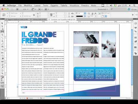Regolazione spazi in InDesign CS5