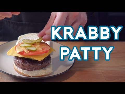 How to Make a Krabby Patty From SpongeBob