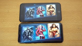 Video Samsung Galaxy S8 vs iPhone 7 Plus Injustice 2 Gameplay Review! (4K) MP3, 3GP, MP4, WEBM, AVI, FLV Mei 2019